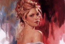 beautiful  woman  arts