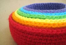 Crochet ~ baskets, bags and purses