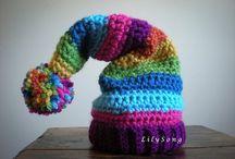 Crochet ~ scarves, hats and socks