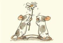Mice ~ illustrations