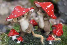 Mice ~ ornaments