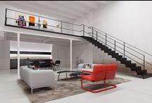 Interior:loft / Architecture/Interior architecture/Design
