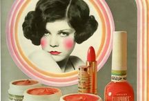 Vintage beauty products