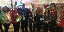 EagleMTN Casino's ugly sweater contest 2016 / Christmas, sweater, decorations, holiday, contest, ugly sweater