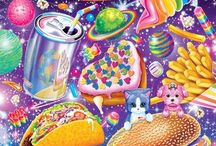 I love Lisa / Lisa Frank stuff.