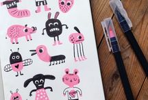 Doodles, drawings & illustrations / Illustrations and doodles.  Drawings too.