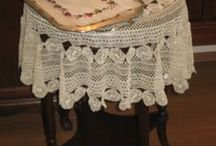 Decor ideas  / Tailor Made Home Textile Hand made needleworks, tablecloths bedsheetings Runner Headscarfes wedding accessories
