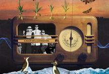 L'art à Parenthèses imaginaires - Dordogne Périgord / Parenthèses imaginaires sème au grès de ses cabanes et chalets des oeuvres pour vous inviter à cultiver votre propre imaginaire.