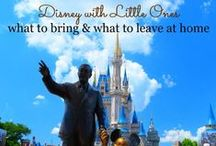 Disney Parks with Kids / Headed to Walt Disney World or Disneyland with the little ones? Find the best strategies for touring Disney Parks with Kids right here!