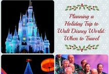 Disney Parks at Christmas / Visiting Disney Parks at Christmas is amazing, but can be stressful! Here we have collected the best tips and tricks to make your holiday trip as perfect as possible, plus crafts and recipes to help you celebrate at home!