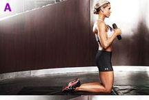 Sport / Ein bisschen von allem: Kraftübungen, Yoga, Rückenübungen,..
