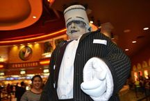 Frankenstein / Meet Frankie! A fun loving Frankenstein that is bound to make an impression at any event or appearance.