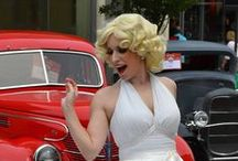 Marilyn / Marilyn will sparkle and dazzle up any event.  Located in Portland, OR.