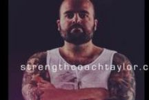 Strength Coach Taylor / Meet Coach Taylor! His main focus is cutting through the crap in the fitness industry and delivering honest fitness information!  Taylor holds a BA in Sociology from the University of Calgary and completed his MS in Human Movement with A.T. Still University. In addition to his CSCS designation with the NSCA, Taylor holds multiple fitness certifications from a various organizations including the NASM and ACSM.