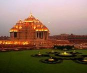 Akshardham Temple, Delhi, India / Travel