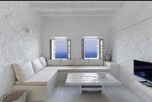 Our architectural projects / Melanopetra Guesthouse in Nisyros island, Aegean Sea. Restoration from a totally ruined house into a Boutique Hotel