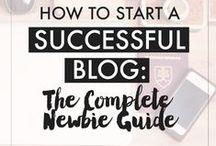 Blog // Blog and social media tips / Idea's to help me improve my blog and social media.