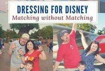 Dressing for Disney / Tips for dressing for your Disney vacation. Whether it's Walt Disney World, Disneyland or a Disney Cruise, we've got you covered!