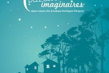 Livre d'images de Parenthèses imaginaires / 4 ans d'images réunies dans un livre pour mieux découvrir Parenthèses imaginaires un camping insolite caché en Dordogne Périgord.