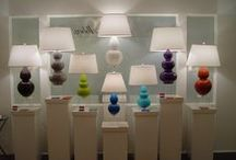 Lighting #LampLove / Our fave designs and fixtures that light up our life from Robert Abbey, Stone Gate and more. #lighting #designhouston