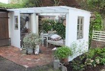 terasy, altány a zahradní domečky