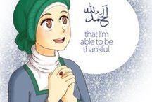 الحمدللهThanks to Allah