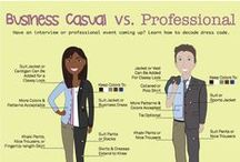 Dress For Success / Whether in clinicals or an interview, look the part so they know you mean business!