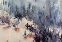 Painting /  oil, watercolor, gouache, acrylic, tempera