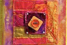 TEXTILES / Fabrics, quilting, fiber arts, sewing hints & tips.