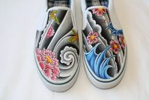 Zapatos pintados