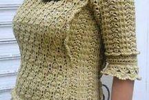crochet schemi vestiti,tuniche....