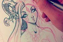 Drawings & cartoons