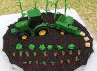 Tractor Themed Party Ideas / Tractors, Birthdays, Men, Kids, Party Ideas