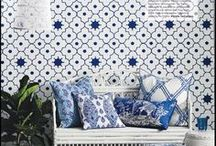 Oriental / Chinoiserie arts and designs inspired by the Oriental. Chic, contemporary and exotic at the same time.