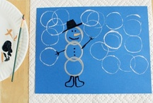 School Winter crafts
