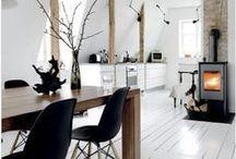 HOME: living space / salony jadalnie kaciki wypoczynkowe
