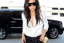 Kim K / It's no secret that I love the Kardashians! I especially love Kims style