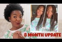 Monthly Hair Updates / What's new? What's changed? What's here to stay? #NaturalHair