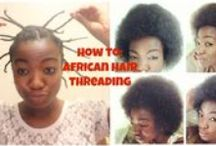 All About Natural Hair / This board is miscellaneous. It will feature all things natural, including products, routines, and chats!