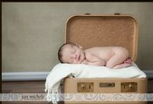 Newborn Baby Portraits / Newborn babies, typically 5-20 days old.