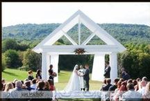 Springfield Manor Winery and Distillery - Thurmont, MD Wedding Venue / Beautiful venue at the foot of the mountains, including manor house, barn reception, vineyard, lavender fields, and outdoor ceremony space.