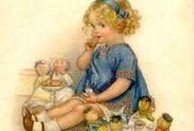 Vintage fairytale illustration...