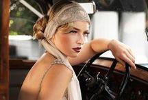 Mariage Gasby / Des perles, des plumes, des franges, de l'opulence... L'époque des années chics. www.drissia.fr