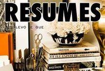 Career Tips: Resumes