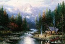 Kinkade / Thomas Kinkade: The Painter of Light.
