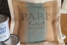 Chalk Paint® on Fabric