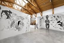 Dr. Lakra - murals exhibit