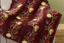 Afghan throw bedspread / by nana pops