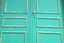 Chalk Paint® on Doors