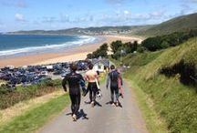 Our Beaches / Our beautiful North Devon holiday cottages are only 400 m from Putsborough beach. The beaches of Saunton, Croyde and Woolacombe are all within a couple of miles. These photos celebrate and share their beauty ...